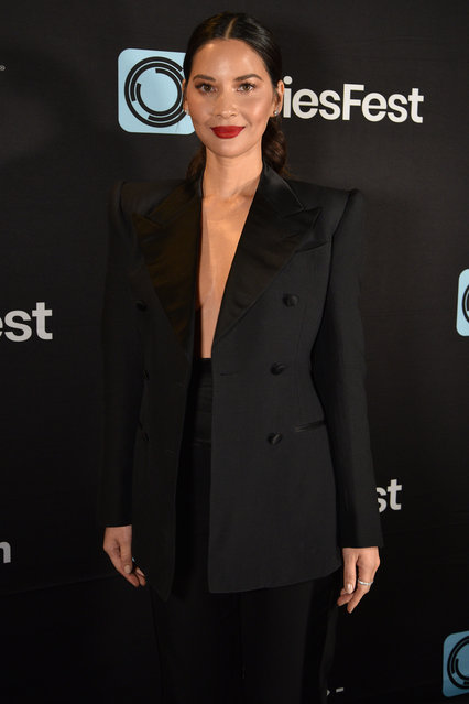 "Olivia Munn of the Starz series ""The Rook"" at SeriesFest Season 5 opening night at Sie FilmCenter on June 21, 2019 in Denver, Colorado. (Photo by Tom Cooper/Getty Images for SeriesFest)"