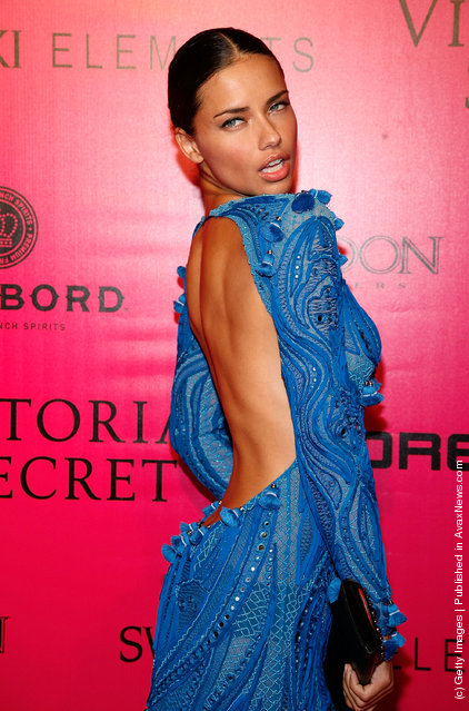 Model Adriana Lima attends the 2011 Victoria's Secret Fashion Show After Party