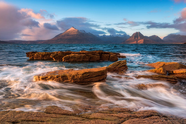 Coastal image of Elgol in North West Scotland. (Photo by Alessio Putzu/Caters News Agency)