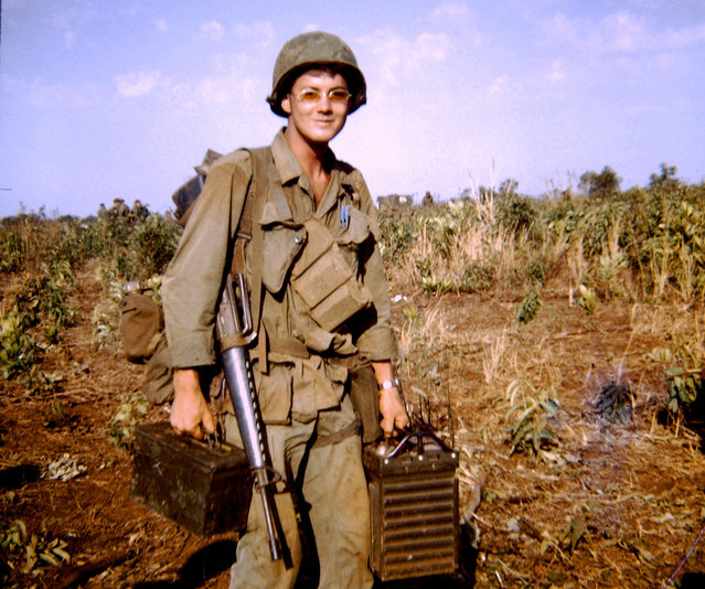 A photo in J. Townsend's collection, April 1969, Vietnam. (Photo by J. Townsend/The Vietnam Slide Project)