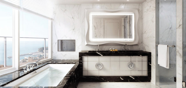 Another bathroom. (Photo by Tour Odeon)