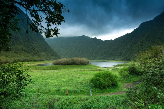 The national park of Réunion island, listed as World Heritage site by Unesco. (Photo by Spani Arnaud/Hemis/Corbis)