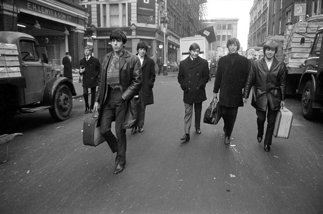 Rolling Stones, 1963. (Photo by Terry O'Neill)