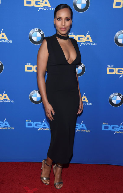 Kerry Washington attends the 69th annual DGA Awards in Beverly Hills, California, U.S. February 4, 2017. (Photo by Paul Hanna/Reuters)