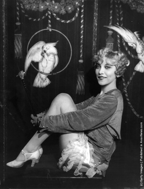Cabaret artist, singer and actress Frances Day in cabaret costume