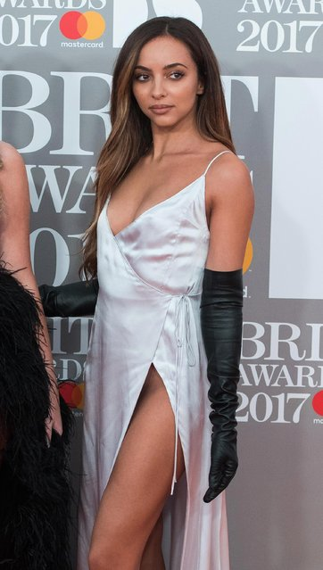 Jade Thirlwall attends The BRIT Awards 2017 at The O2 Arena on February 22, 2017 in London, England. (Photo by Anthony Harvey/Getty Images)