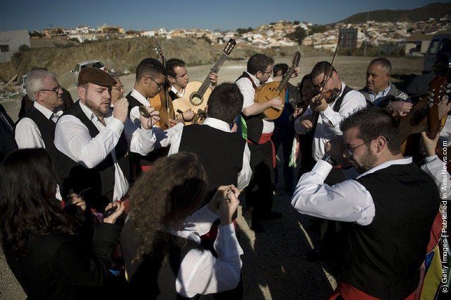 Traditional Flamenco Musicians Take Part In Contest