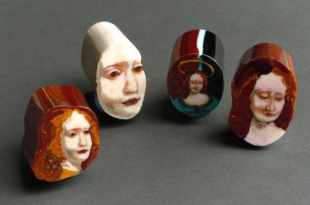 Glass Paintings By Loren Stump