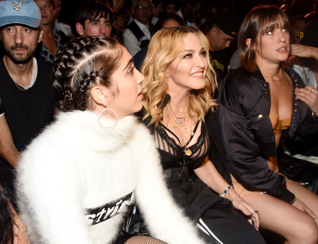 Lourdes Maria Ciccone Leon and Madonna attend the Alexander Wang show during New York Fashion Week on September 10, 2016 in New York City, USA. (Photo by Clint Spaulding/WWD/Rex Features/Shutterstock)