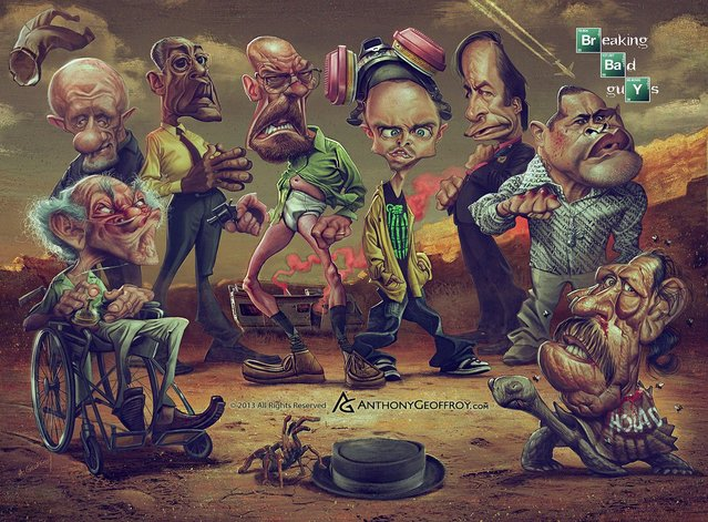 Anthony Geoffroy adds his own twist to the already phenomenal characters from Breaking Bad