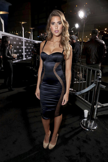 """Kara Del Toro seen at STX Entertainment Los Angeles Special Screening of """"The Space Between Us"""" at ArcLight Hollywood on Tuesday, January 17, 2017, in Los Angeles. (Photo by Eric Charbonneau/Invision for STX Entertainment/AP Images)"""