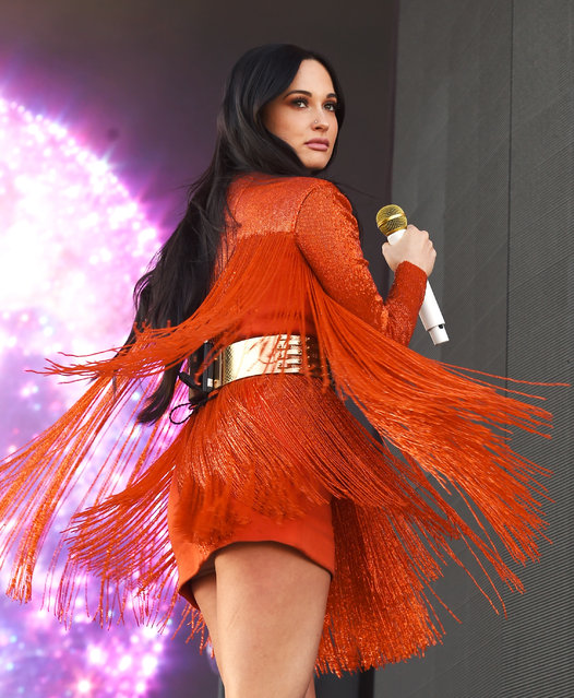 Kacey Musgraves performs on Coachella Stage during the 2019 Coachella Valley Music And Arts Festival on April 12, 2019 in Indio, California. (Photo by Kevin Winter/Getty Images for Coachella)