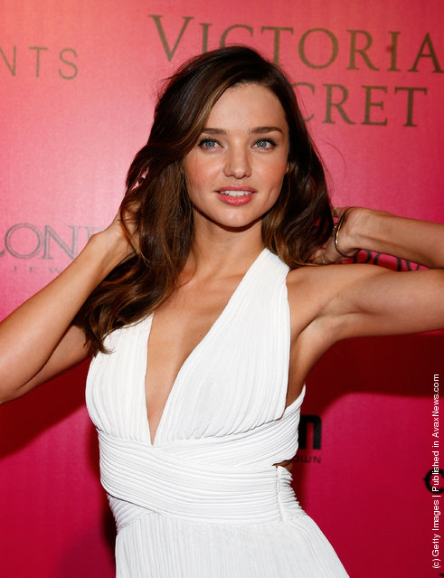 Model Miranda Kerr attends the 2011 Victoria's Secret Fashion Show After Party