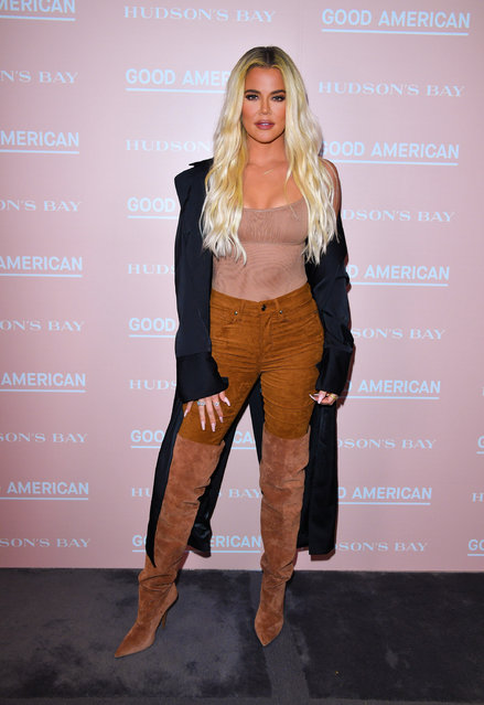 Khloe Kardashian attends Hudson's Bay's launch of Good American in Toronto on September 18, 2019  (Photo by George Pimentel/Getty Images)