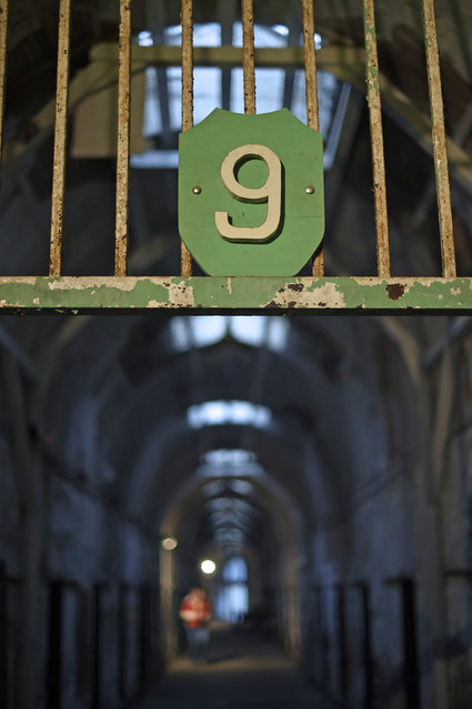 The entrance to block 9 is seen at the now-closed Eastern State Penitentiary in Philadelphia, Pennsylvania April 30, 2014. (Photo by Mark Makela/Reuters)