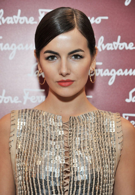 American actress Camilla Belle attends the launch of the Salvatore Ferragamo London Flagship Store on Old Bond Street on December 5, 2012 in London, England. (Photo by Dave M. Benett)
