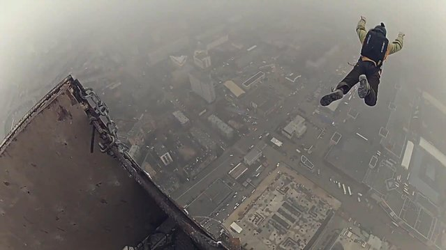 How to Illegally Climb up on the Highest Construction Crane in Europe