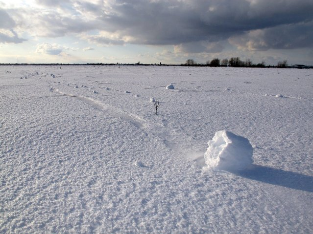 Snow Roller in Ontario. (Photo by Dean)