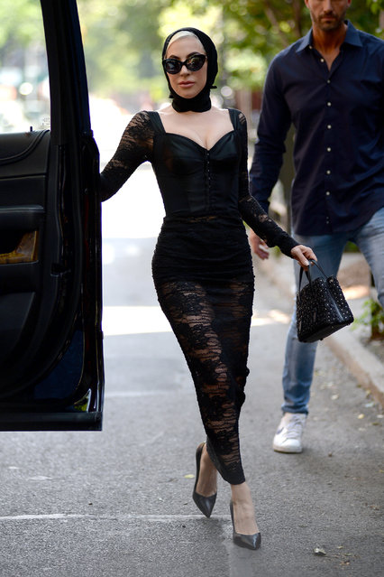 Lady Gaga was seen on May 29, 2018 in New York City, USA. (Photo by ACE Pictures/Splash News and Pictures)