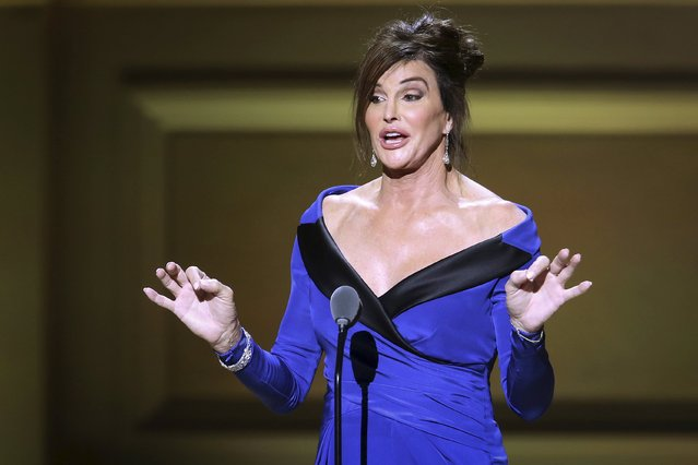 Former Olympian Caitlyn Jenner came out as a trans woman in April 2015, saying she had dealt with gender dysphoria since her youth. Her new Twitter handle gained over one million followers in just over four hours, breaking the previous record held by President Obama. Pictured in Manhattan, November 9, 2015. (Photo by Carlo Allegri/Reuters)