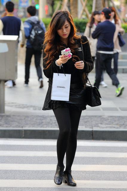 """Chanel"". Shanghai, 2013. (Asian (Street) Impressions)"