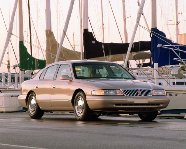 This undated photo provided by the Ford Motor Co. shows the 1997 Lincoln Continental. (Photo by AP Photo/Ford Motor Co.)
