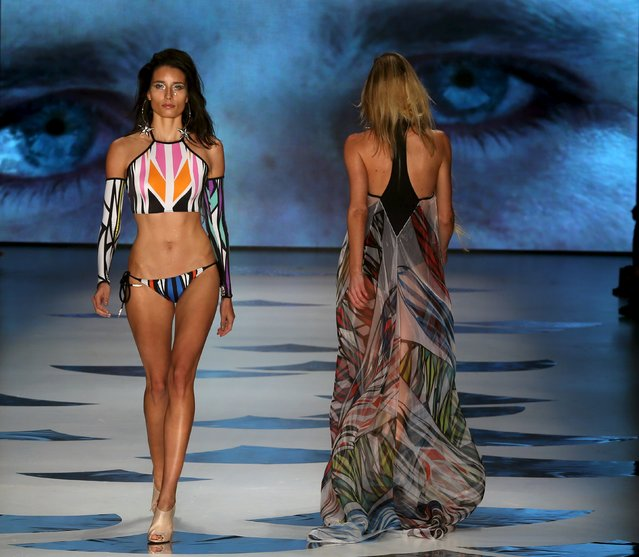 Models present creations from Triya Summer 2016 Ready To Wear collection during Sao Paulo Fashion Week in Sao Paulo April 14, 2015. (Photo by Paulo Whitaker/Reuters)