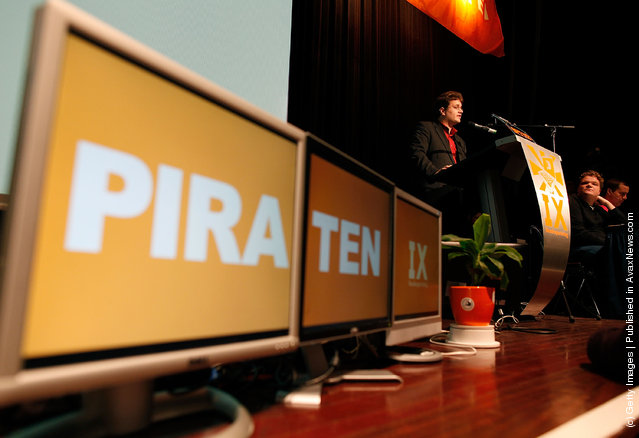 Pirate Party Holds Federal Congress