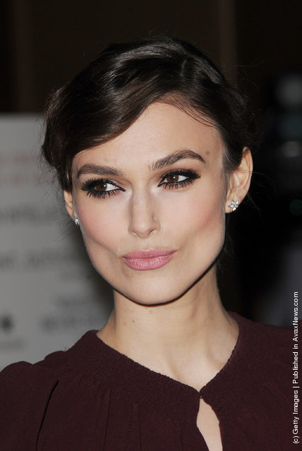 Keira Knightly attends the UK Gala Premiere of A Dangerous Method at The Mayfair Hotel