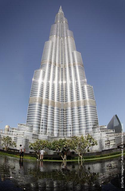 A general view of the Burj Khalifa in Dubai