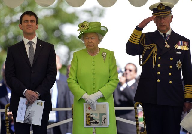 World Leaders Gather For D-Day Tribute