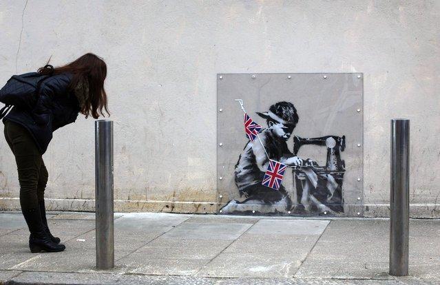 Banksy Artwork Appears In North London