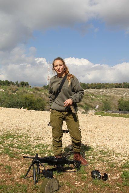 """Weapons Instructor"", 2012. It's a well known fact that the IDF trains some of the best soldiers in the world, but at the source of every good soldier lies an exceptional instructor – and that's where Cpl. Daniella Stepanoe steps in. She travels from base to base training everyone from paratroopers to elite special forces units in the use of their weapons."