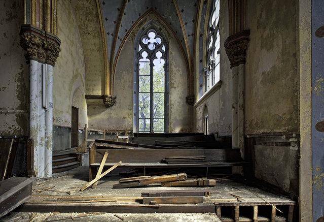 St. Boniface Church, Philadelphia Pa. (Photo by Matthew Christopher/Caters News)