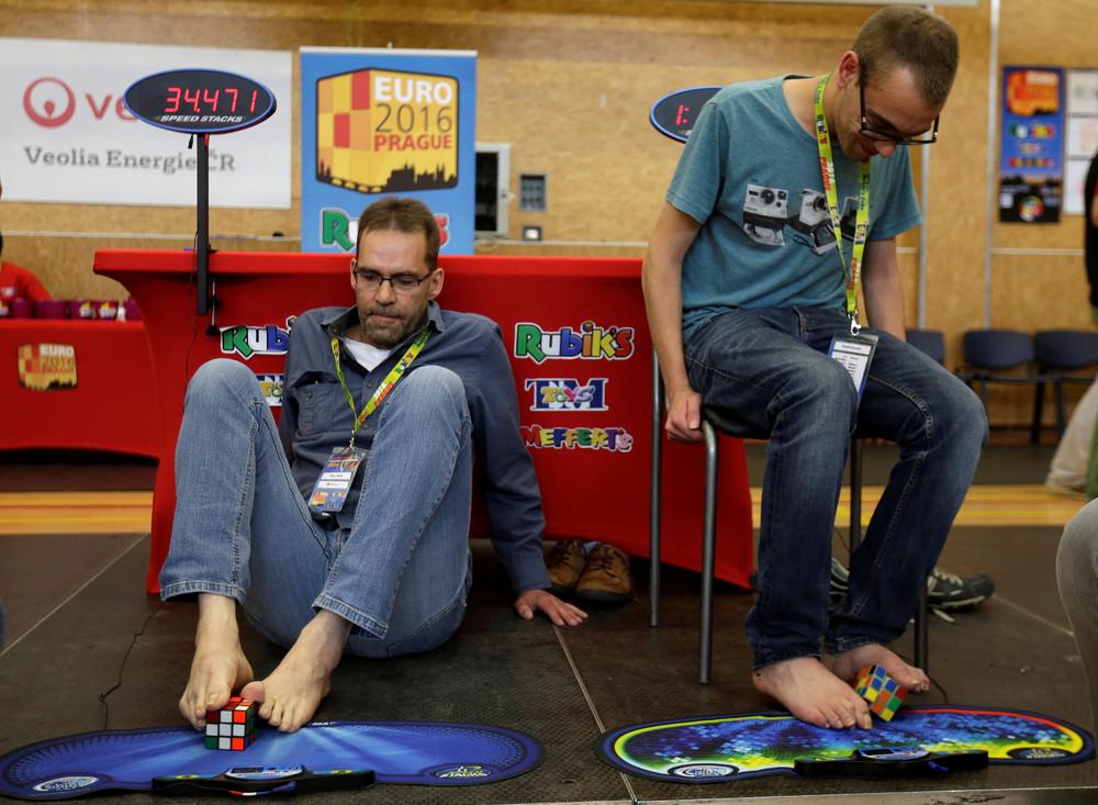 Rubik's Cube European Championship 2016