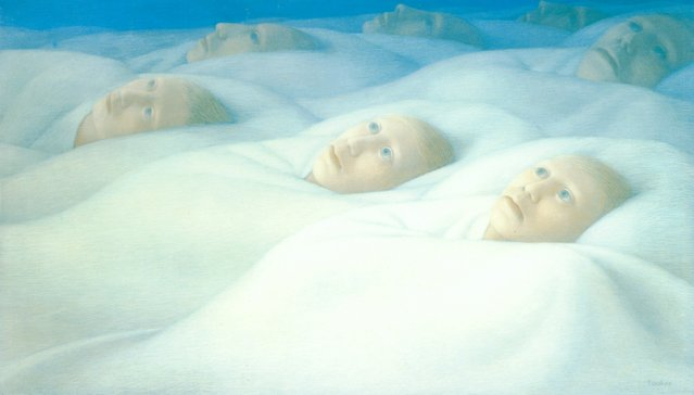 Sleepers II. Artwork by George Tooker