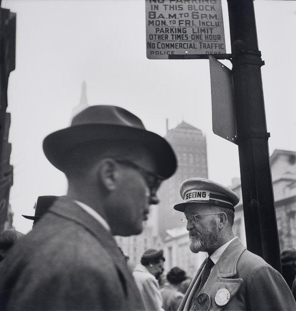 New York City, 1950. (Photo by Elliott Erwitt/Harry Ransom Center Collection/Magnum Photos)