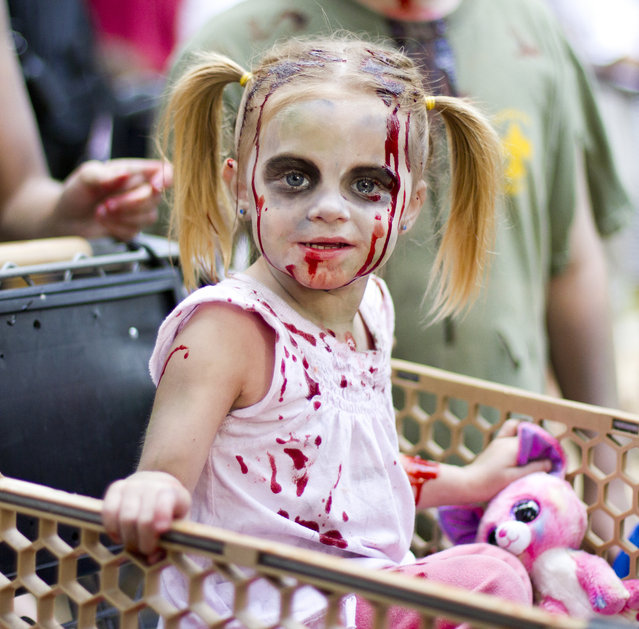 """""""Zombie girl"""". (Photo and caption by Nathan Rupert)"""