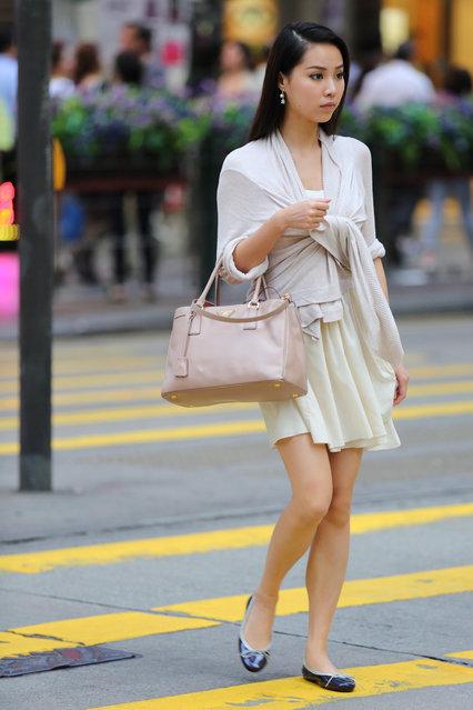 """Creamy"". Hong Kong, 2013. (Asian (Street) Impressions)"