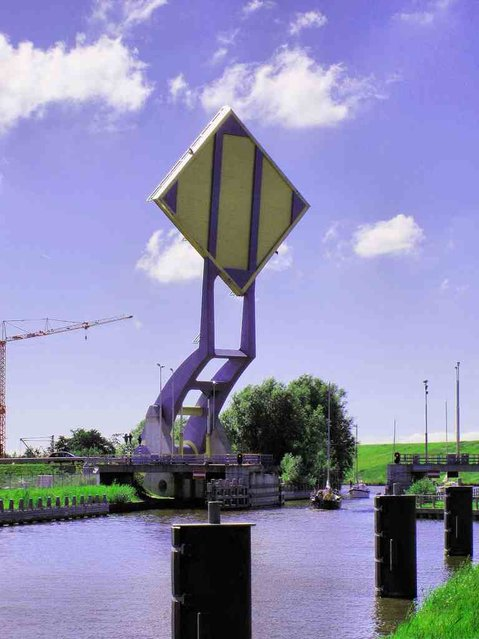 Slauerhoff Bridge, Netherlands