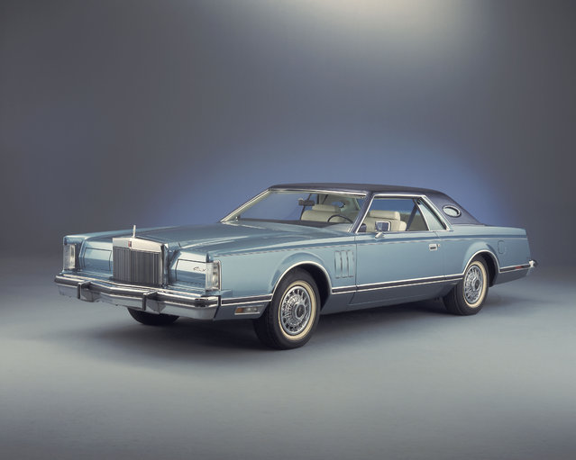 This undated photo provided by the Ford Motor Co. shows the 1979 Lincoln Continental Mark V. (Photo by AP Photo/Ford Motor Co.)
