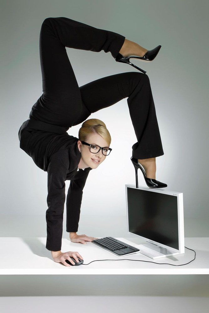 """Secretary Wanted.... Must be Flexible"""
