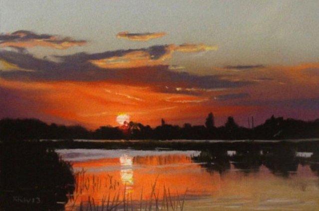 Painting By Kieron Williamson