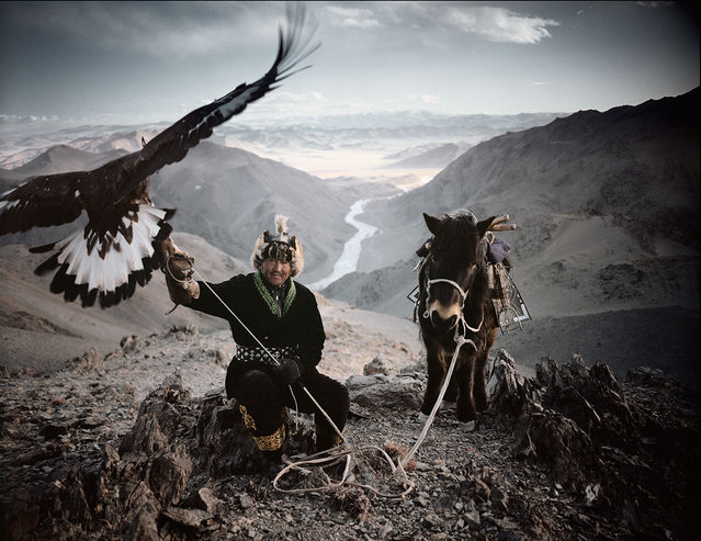 Fine Horses And Fierce Eagles Are The wings Of The Kazakh
