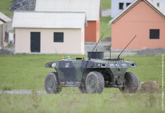 European Land-Robot Trial (ELROB), Military robot, Gecko