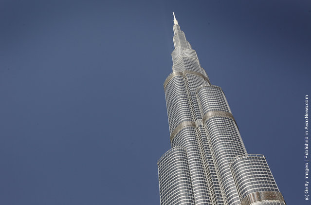 A general view of the Burj Khalifa in Dubai