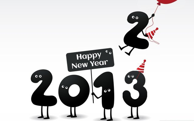 Happy New 2013 Year!
