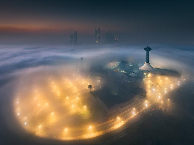 Marina Mall. (Photo by Khalid Alhammadi/Caters News Agency)