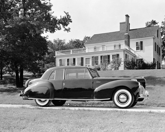 This undated photo provided by the Ford Motor Co. shows the 1941 Lincoln Continental. (Photo by AP Photo/Ford Motor Co.)
