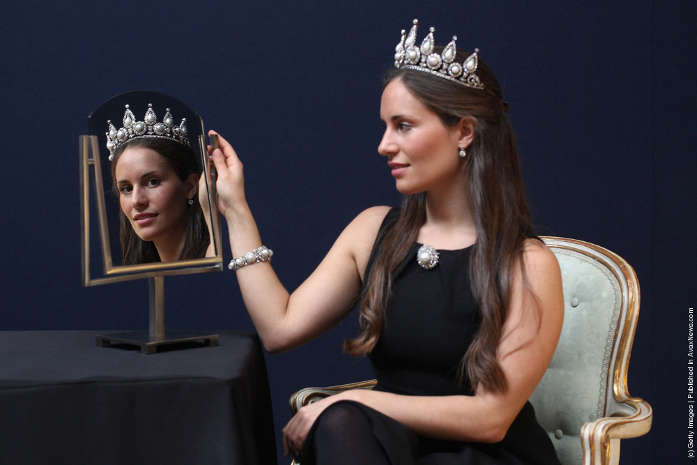 Christies Photocall For Their Important Jewels Sale